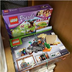 LEGO FRIENDS AND MINE CRAFT SETS