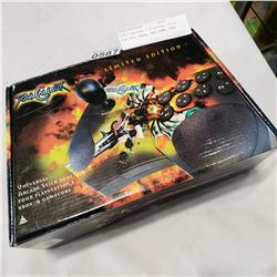 SOUL CALIBER 2 FIGHTING STICK FOR PS2, XBOX, AND GAME CUBE