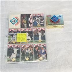 1992 CHAMPIONSHIO SEASON TORONTO BLUE JAYS WORLD SERIES CHAMPS COMPLETE SET W/ BOX