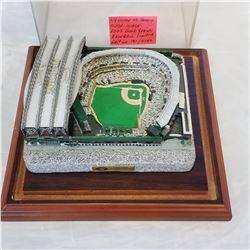 WELCOME TO SAFECO FIELD SEATTLE WASHINGTON 2002 GOLD SERIES BASEBALL LTD EDITION