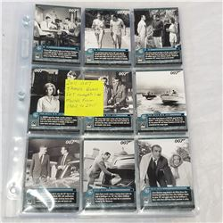 2011 007 JAMES BOND SET COMPLETE - 1 TO 66 MOVIES FROM 1962-2011