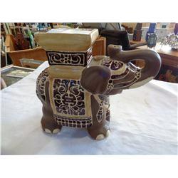 SMALL ELEPHANT PLANTER STAND