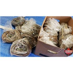 BOX LOT:  Farmers Bag  of Mixed Leather Laces (19 Bags - Approx 1lb per Bag) (Variety Lengths/Colors