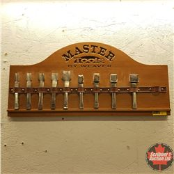 Master Tools by Weaver : Oblong Punch Set (Missing 1 Tool)