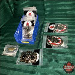 "Belt Buckles : ""Freedom Trophy"" Eagle (2) & ""Economy Trophy"" Eagle (1) & ""Skull Cross Trophy"" (5)"