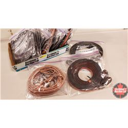 BOX LOT: Reins/Lines (15) (Note: 1 Complete, 14 Templates)
