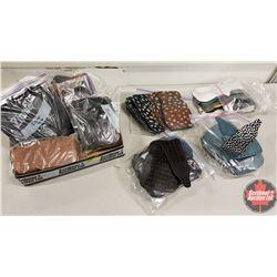 Tray Lot: Small Purse Kits (9 Bags) Variety of Patterns