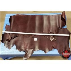 LEATHER BUNDLE #23: Chocolate (2 Sides) 9 - 10 oz