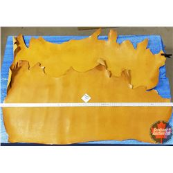 LEATHER BUNDLE #20: Yellow (2 Sides) 7 oz