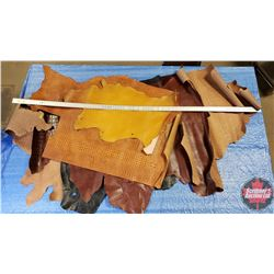 BULK LOT - Variety Pattern Leather (Range from 2oz to 3.5oz) Must Look !