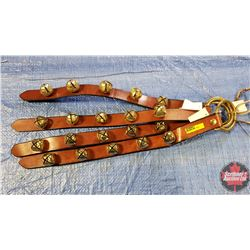 CHOICE OF 10 Sleigh Bell Strap Bundles of 4