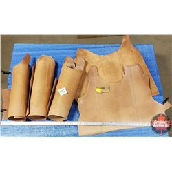 LEATHER BUNDLE #16: Weaver Leather Ostrich Point (5 Pieces) 7 - 8 oz