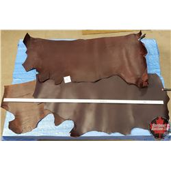 LEATHER BUNDLE #14: (3 Sides - Different Colors) 9 - 11 oz