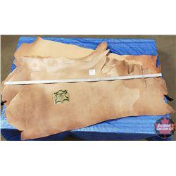 """LEATHER BUNDLE #1: Natural (4 Sides) 9 oz """"Hermann Oak Leather"""""""