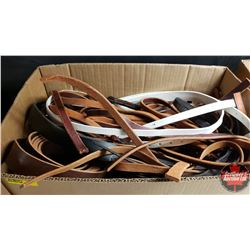 BULK LOT : Belting & Strapping (Variety Colors/Types/Sizes)