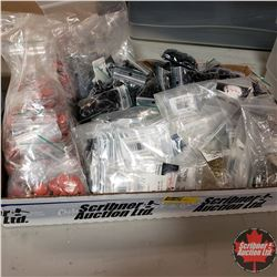 Tray Lot: Variety of Hardware (Snaps, Rivets, Dot Setters, etc)