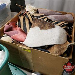 BOX LOT: Variety of Animal Print Remnants/Cutoffs