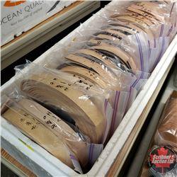 """BULK LOT : Belt Blanks & Embossed """"Natural"""" Variety Sizes/Lengths - 24 Bags (5 per Bag)"""