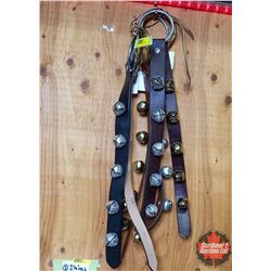Bundle of 6 Misc Sleigh Bell Straps