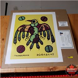 """Norval Morrisseau"" Limited Edition Print : Thunderbird 33/950"