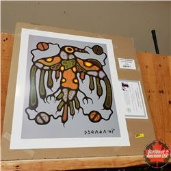"""Norval Morrisseau"" Limited Edition Print : Sacred Thunderbird 478/950"