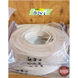 "BULK LOT - BELTING (14): 1-1/4"" (All Lengths 68""+)  (3 Bags)"