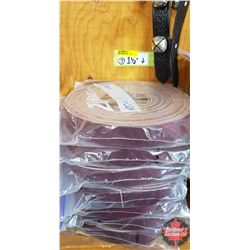 "BULK LOT - BELTING (7 Bags): 1-1/2"" (Variety Lengths 68"" or Less) (5 Per Bag)"
