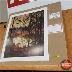 CHOICE OF 2: Group of 7 Limited Edition Prints : Northern River 404/777