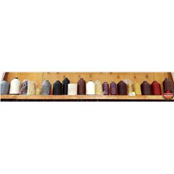 Nylon Thread - Variety Sizes/Colors (20 Spools)