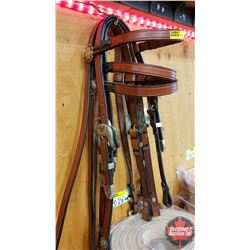 "Headstalls (3) : TC Antique ""Pico Berry"""