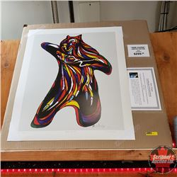 """Don Chase"" Limited Edition Print : Bear Spirit 179/999"