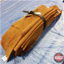 "Suede Bundle - Brown (19 Pcs) + 1 Belt 30"" (22lbs)"