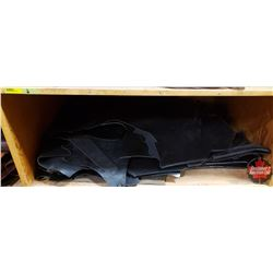 BULK LOT: Leather Cutoffs - Large Variety (Black)