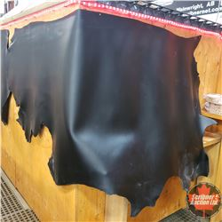 LEATHER SIDE - Black : 9 oz