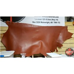 LEATHER SIDE - Chestnut : 8 oz