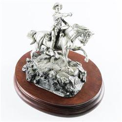 CHILMARK - Polland Fine Pewter Sculpture LE 'UNIT-