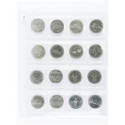 Group of (16) Canada Nickel Dollars