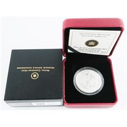 .999 Fine Silver $10.00 Coin 'Year of the Snake' LE/C.O.A.