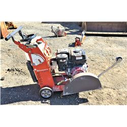"Husqvarna FS400 20"" Concrete Saw (Starts & Runs See Video)"