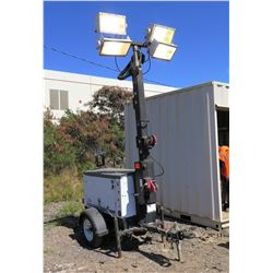 Multiquip LT6K Light Tower (Runs-All Four Lights Work See Video)