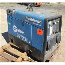 Miller Trailblazer 325 Welder (Starts & Runs See Video)