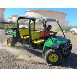 2016 John Deere XUV855DS4 UTV w/Manual Dump Bed (Runs & Drives See Video)