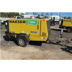 Kaeser M100 Portable Air Compressor (Doesn't Run Needs Coupler Replaced)