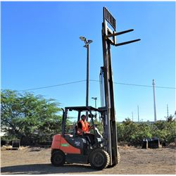 Doosan D30S-5  Forklift (Runs and Works See Video)