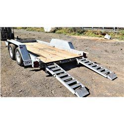 Felling FT10-P Tandem Axle Equipment Trailer 14'