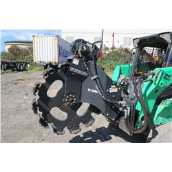 Bobcat Vibratory Skid Steer Trench Compactor (Works See Video)