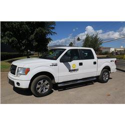 2014 Ford F150 Truck -Quad Cab 53,159 Miles Lic 847TVF (Runs & Drives See Video)