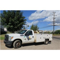 2012 Ford F350 Service Truck w/Compressor & Welder & Hose (Nothing Else) (Runs/Drives See Video)