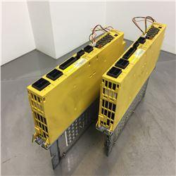 (2) Fanuc A06B-6093-H153 Servo Amplifier Unit