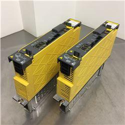 (2) Fanuc A06B-6114-H209 Servo Amplifier Module